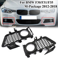 L+R M Package Front Bumper Fog Light Grills For BMW 3 Series F30 F35 2012-2018
