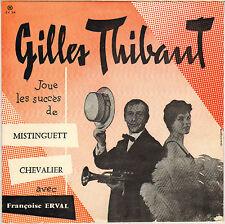 GILLES THIBAUT / FRANCOISE ERVAL TRUMPET VOCAL JAZZ 50'S 25 cm CND 218