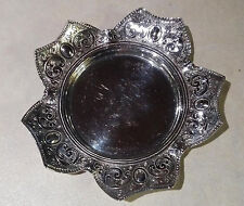 Vintage Silverware W.D. & Co. Tray Dish English Manufacture