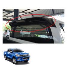 Rear Roof Spoiler Trim + Break Light Fit Toyota Hilux Revo SR5 M70 UTE 15 - 17