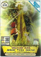 DVD Magic Tree House The Animated Movie DVD + Bonus Anime