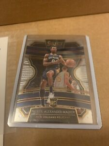 Nickel Alexander-Walker Panini Select Base RC