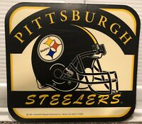 Vintage NFL mousepad--PITTSBURGH STEELERS--