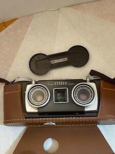 Vintage Very Clean 35mm Kodak STEREO Film Camera w/Case