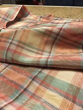 Muted Plaid In Classic Colors For Home Sewing And More
