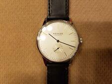 Nomos Glashutte Orion 38 Mens Stainless Steel Watch, Original Bauhaus sinn iwc