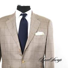 #1 MENSWEAR Cifonelli Paris Made in Italy 35/65 Silk Cashmere Plaid Jacket 42 NR