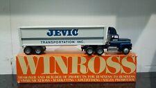 1988 JEVIC Winross semi truck mint in box.