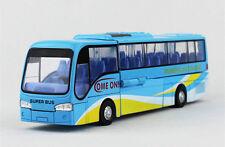 Plastic + Alloy Car Model Kids Toy Vehicles Transformers Bus Boy Gift  1:32-Blue