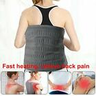 XL Weighted Electric Heating Pad For Back Pain And Cramps Relief - Fast Hot With