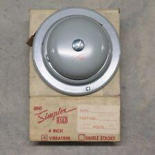 Simplex Str 4017 4 Grey Vibrating Bell Part 624 019 277v Ac Nos W Mount Vintage