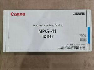Canon Genuine NPG-41 Toner imageCLASS MF9300 Series Colour Cyan