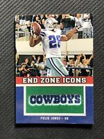 2011 TOPPS FELIX JONES END ZONE ICONS MANUFACTURED PATCH #EZI-24