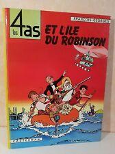 BD Les 4 as 9. Les 4 as et l'île du robinson. TBE