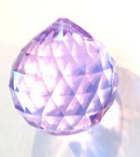 20mm Swarovski Strass Light Violet Crystal Ball Prism Wholesale Feng Shui CCI