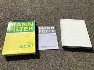 Pollenfilter Innenraumfilter Mann CU25007 Ford Focus C-Max Volvo V40