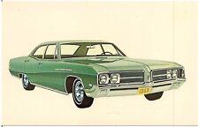 1968 Buick Le Sabre 4-Door Sedan Automobile Advertising Postcard