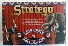 Stratego - Democrats vs. Republicans Strategy Board Game USAopoly New Sealed