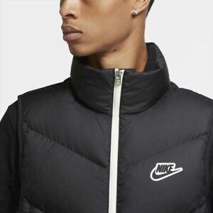 Nike Sportswear Down-Fill Windrunner Vest Sleeveless Jacket Men's Size M Black
