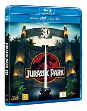 Jurassic Park 3D Blu Ray + 2D Blu Ray (Region Free)