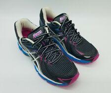 ASICS GT-2000 Women's Running Shoes Black/Pink/Blue Size 6 2A (Narrow)