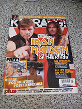 KERRANG MAGAZINE No 1065 - ANARCHY - MY CHEMICAL ROMANCE - AC DC - TRIVIUM