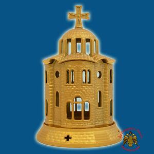 Orthodox Church Design Aluminum Vigil Candle Orthodoxe Ikonenampel Ewiglicht