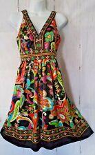 ECI Dress 2 Beautiful Bohemian Chic Silky Tieback Fit and Flare Party Sundress