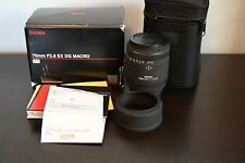 Sigma EX DG 70mm F2.8 AF Macro Lens For Nikon