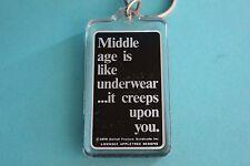 Middle age is like Underwear Keychain