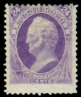 MOMEN: US STAMPS #153 MINT OG H UNUSUAL RICH COLOR