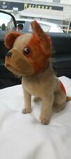 Steiff Bully Dog Bear Old Vintage Bulldog Prewar Rare orange