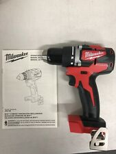 "New Milwaukee M18 18v 1/2"" Drill/Driver Brushless Cordless (no Battery) 2801-20"
