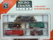 Northern Pacific Atlas RS-11 #911 N Scale Micro-Trains Table Top Set NIB