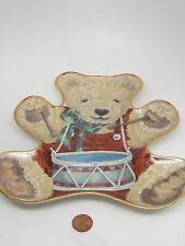 Limited Edition The Franklin Little Drummer Bear Sarah Bengry #Hc6235 Porcelain