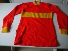 maillot de vélo vintage Tricot du Rocher CCBM Bagnols Marcoule rouge et jaune T3