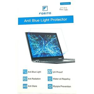 (2)-15.6 Inch Laptop Screen Protector--Blue Light and Anti Glare Filter, FORITO