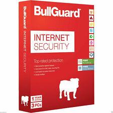 Bullguard Internet Security 2020 3 PC 2019 3 Dispositivi | 1 Anno IT EU