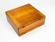 New listing Antique slide box with trays to hold 144 microscope slides