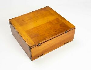 Antique slide box with trays to hold 144 microscope slides