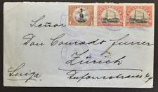 GUATEMALA to SWITZERLAND 1920 Building/Architecture on Cover G-City to Zürich !!