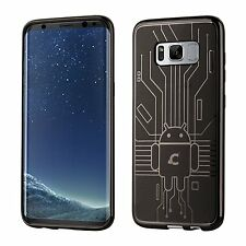 Samsung Galaxy S8 Plus Case Durable TPU Cruzerlite Damage Resistance Cover Smoke