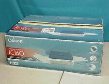 Canon PC160 Personal Copier Small Portable Copy Machine w/ Power Cord - Tested