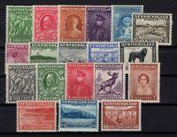 P131830/ NEWFOUNDLAND / CANADIAN PROV / LOT 1932 MH CV 155 $