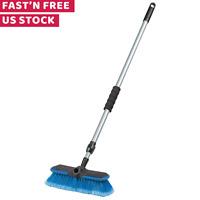 Car Washing Brush Long Handle Extension Pole Super Soft Head For Truck SUVs RVs