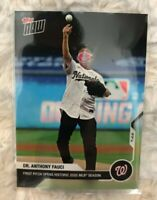 2020 Topps Now Dr. Anthony Fauci Card #2 - Opening Day First Pitch MLB Nationals