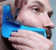Beard shaping Template shaving mens Stencil Symmetry Trimmer Comb Barber shaver