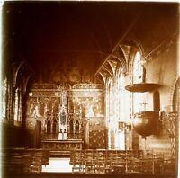 Belgium Bruges Cappella Del San Sangue Foto Stereo Placca Lente VR3L6n2
