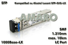 Alcatel Lucent SFP-GIG-LX komp SFP 1G LX LC 10km 1310nm SMF Transceiver