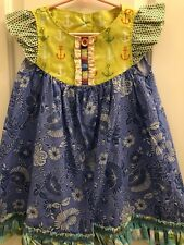 Matilda Jane Flutter Dress Size 4 NWOT